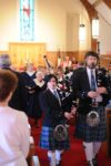 Bagpipers -50th anniv